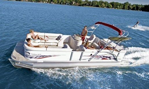 Rent 21' Pontoon Boat in Miami Beach, FL
