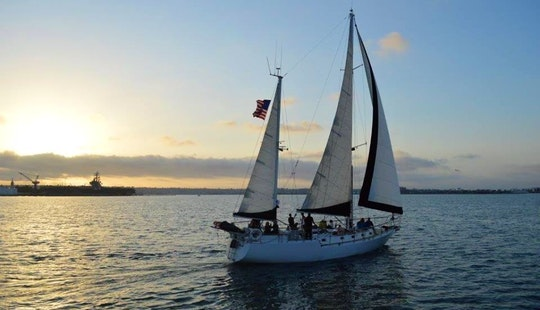 Enjoy 55' Cruising Ketch In San Diego