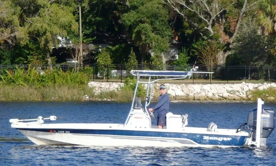 Fishing Charters On 23' Ranger Bay Boat In Tampa, Florida