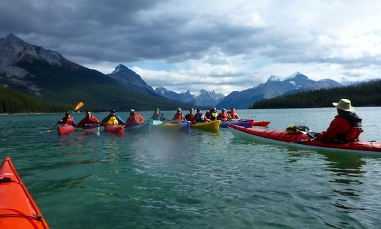 Guided Kayak Trips On Red Deer River