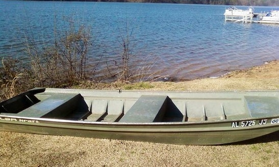 Regular Jon Boat Rental In Birmingham