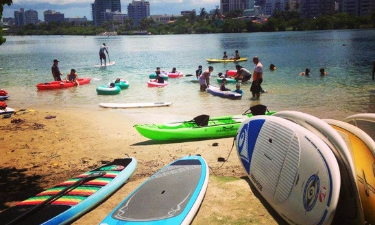 Paddleboard Adventure Tour In San Juan