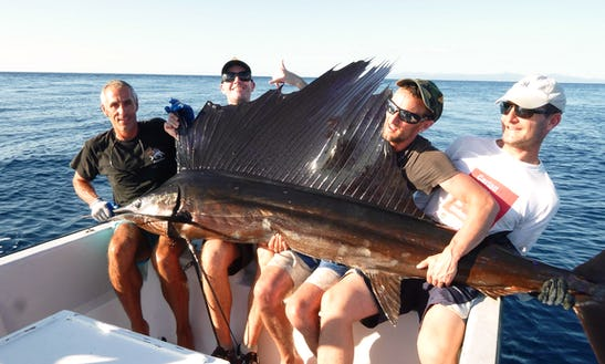 Sport Fisherman Rental In Playa Samara