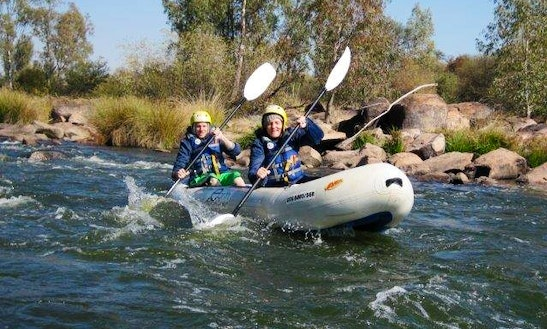 River Rafting In The Vaal River At Parys