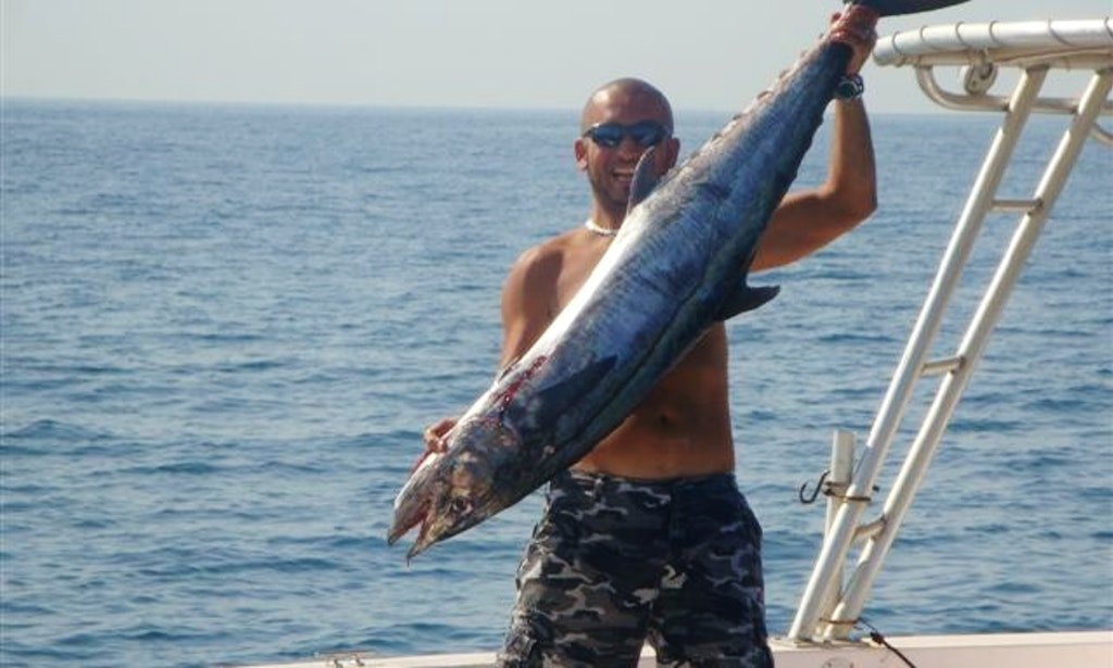 Fishing charter on 35 39 gulf craft sport fisherman with for Gulf angler fishing charters