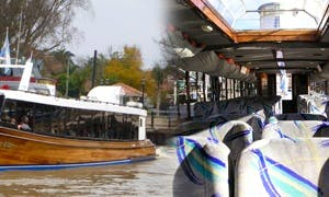 """River Cruises aboard the """"El Leon VII"""" Canal Boat in Buenos Aires"""