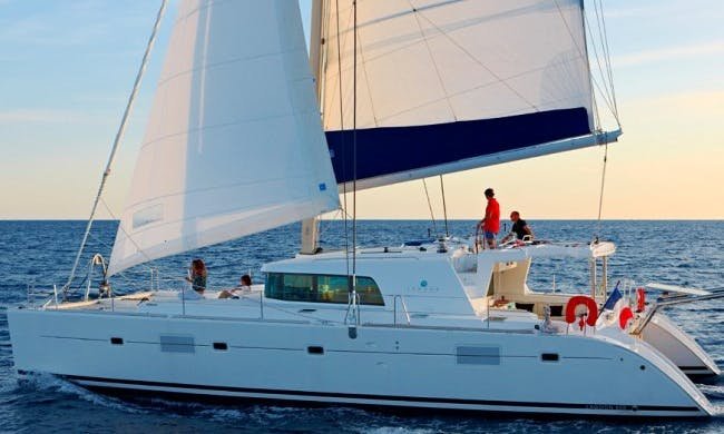 "Charter on 50ft ""Lagoon 500"" Sailing Catamaran Boat In Panama, Panama"