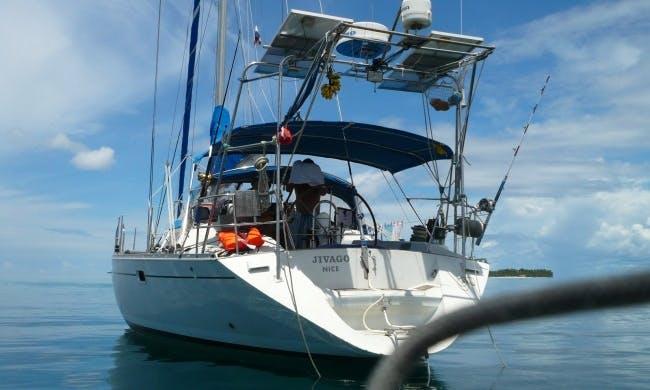 Charter on 44ft Feeling 446 Sailing Yacht In Panama, Panama