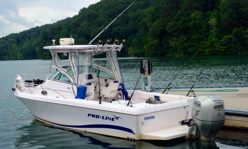 25' Fishing Charter In LaFollette