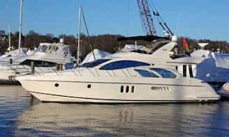 Charter 55' Azimut Luxury Motor Yacht in Puerto Vallarta, Mexico