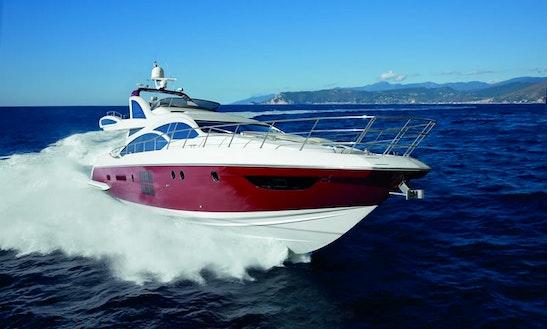 Charter 62' Azimut Motor Yacht  In Puerto Vallarta, Mexico