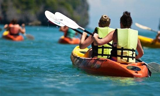 Guided Kayak Tours In Playa Blanca