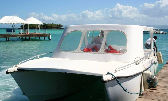Charter A Power Catamaran In Las Galeras, Dominican Republic