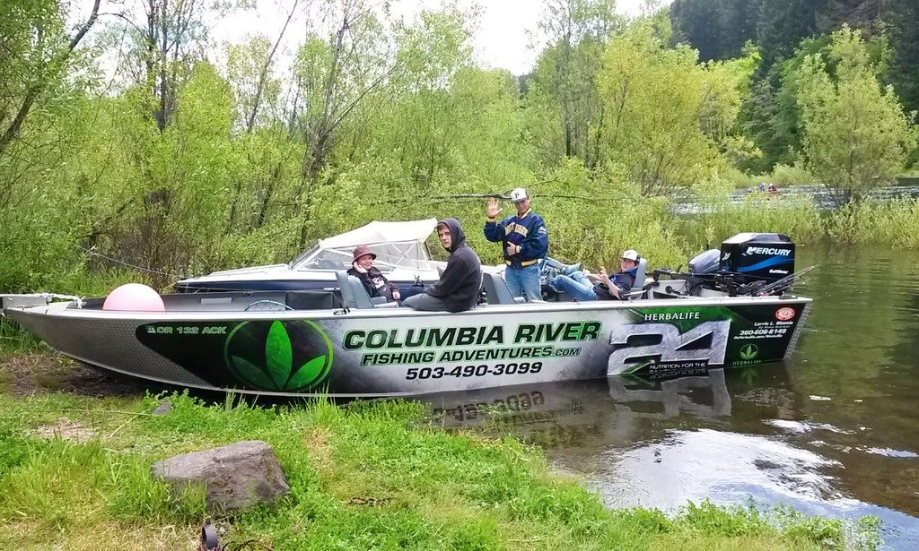 Columbia river fishing guides getmyboat for Oregon out of state fishing license