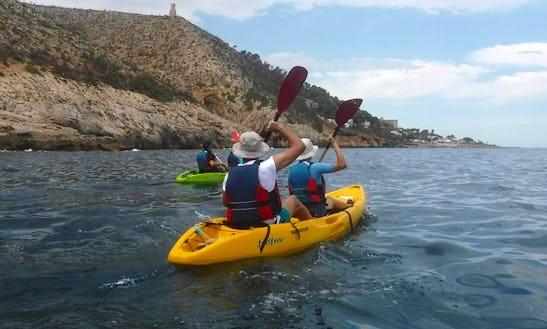 Kayak Tour In Calp