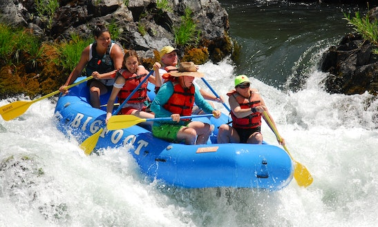 Water Rafting Guided Trips In Willow Creek, Ca