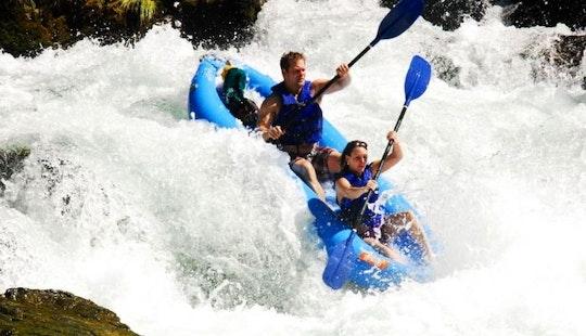 Double-kayak Rental & Rafting Trips In Willow Creek, California