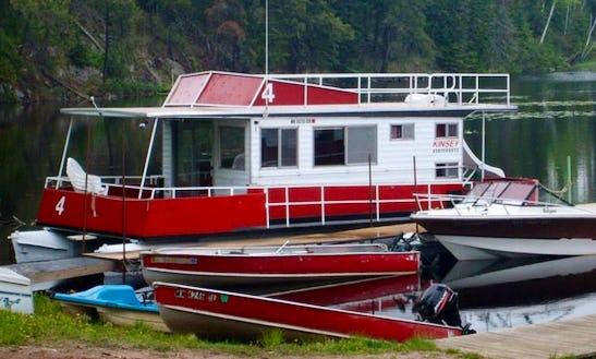 33' Kayot #4 Houseboat Rental In Babbitt