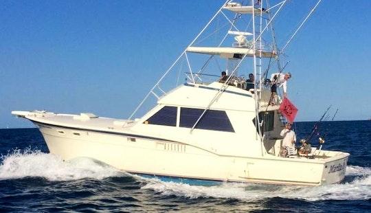 Enjoy 46' Hatteras Sportfish Charter In Fort Lauderdale, Fl