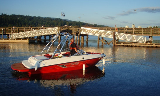 19ft Bayliner Bowrider Boat Rental In Vancouver, British Columbia