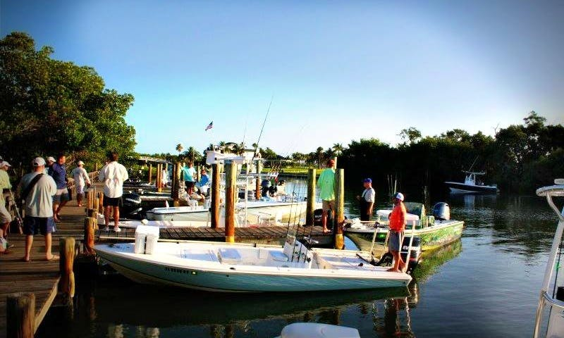 Bass Boat Fishing Charter in Boca Grande, Florida