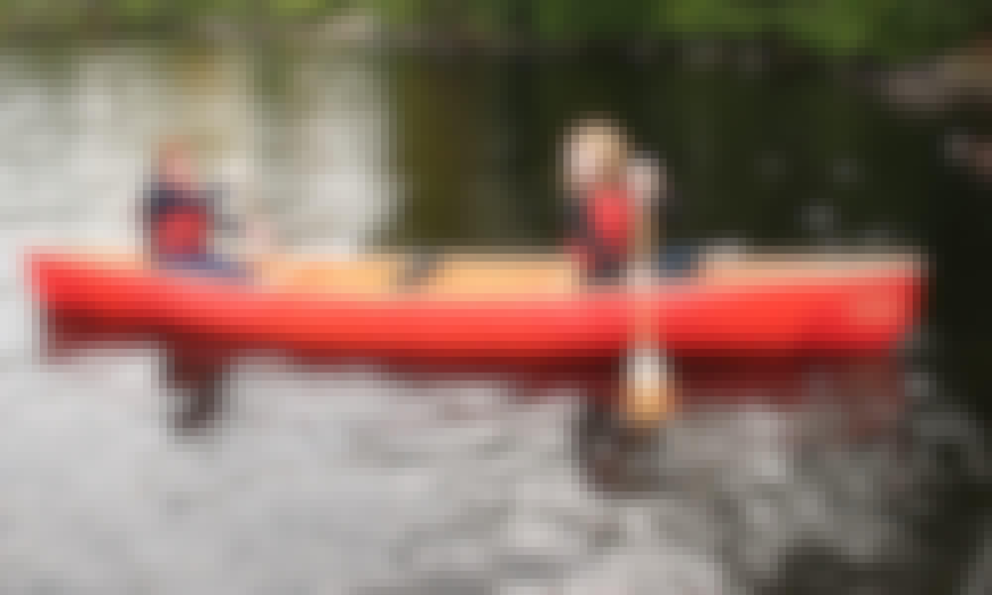 2 seater Kevlar Canoes Rental in Brule River, Wisconsin