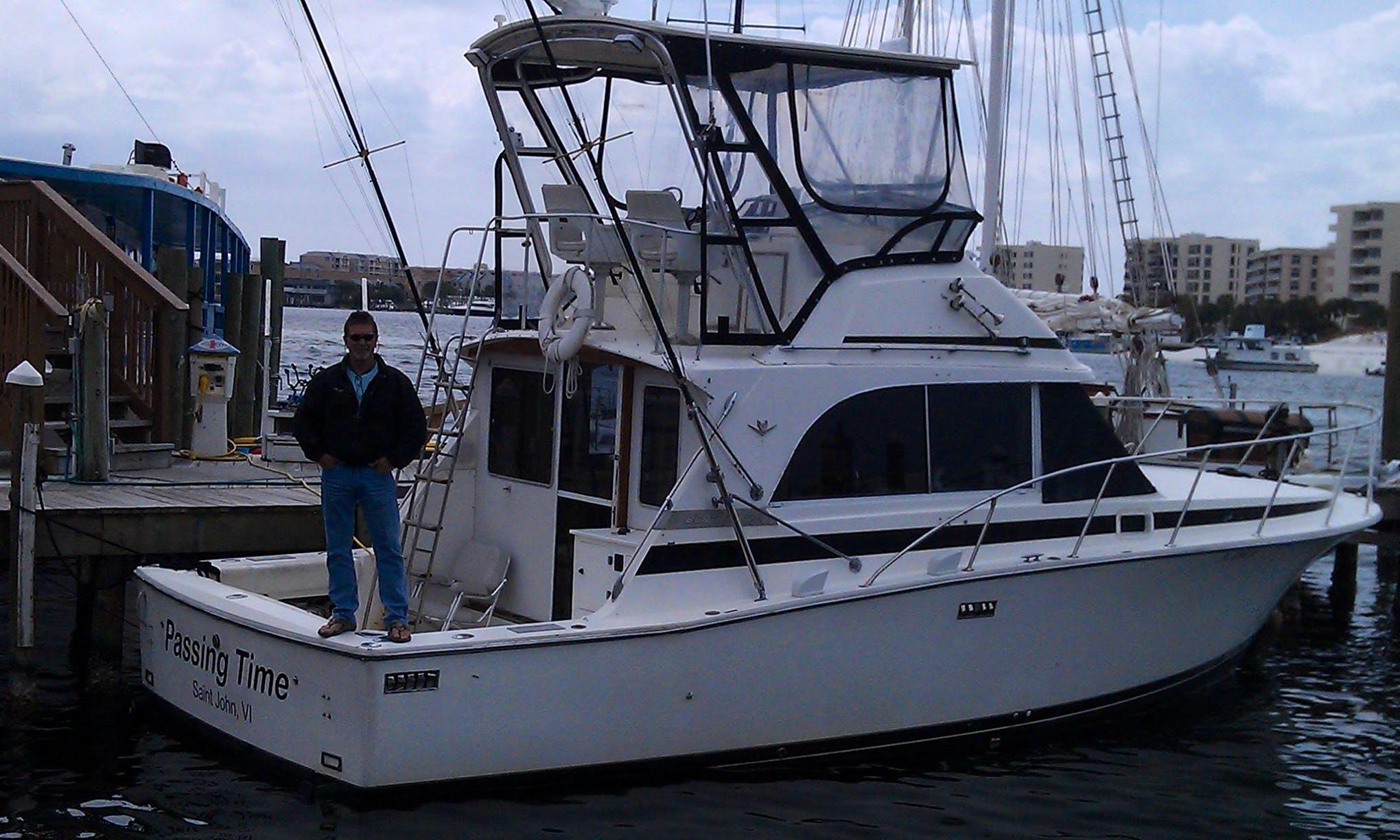 37' Bertram Sport Fisherman in Destin Florida, United States