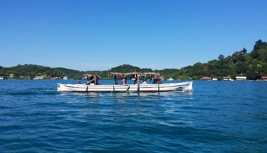 Fun-filled Boat Tour In Coxen Hole, Honduras