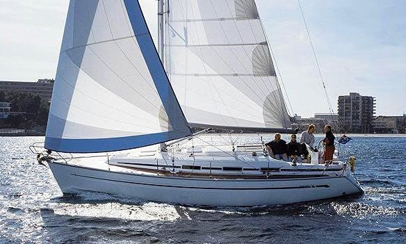 """36ft """"Espurna"""" Bavaria Cruising Monohull Boat Charter in Barcelona, Spain"""