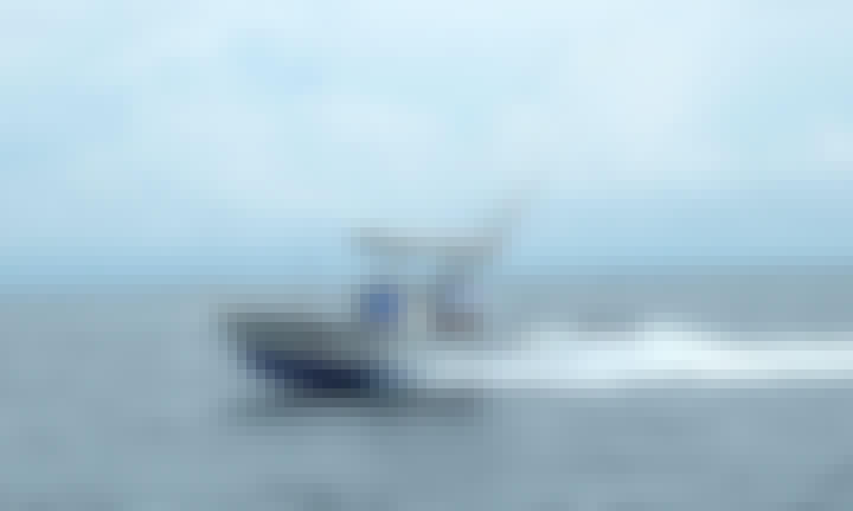 """Inshore & Offshore Fishing on the """"Mar Hurva"""" in Puerto Jiménez"""