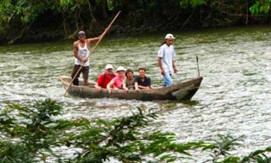 6 Seater Canoe Rental In Banos De Agua Santa, Ecuador