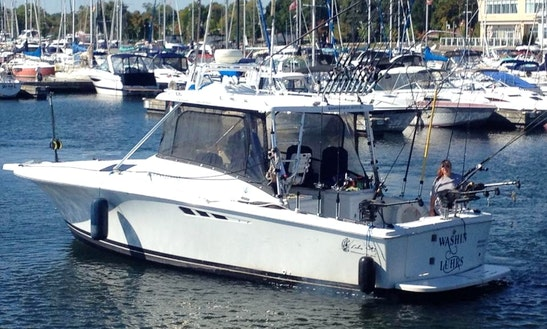29' Fishing Yacth Charter In Oakville