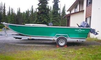 13' Jon Boat Rental in Soldotna, Alaska