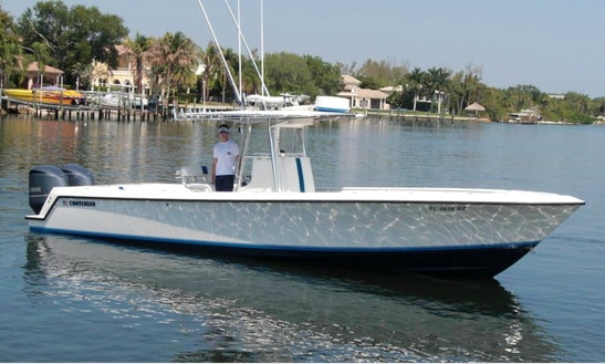 33ft Contender 33t Center Console Boat Fishing Charter In Palm Beach Gardens, Florida