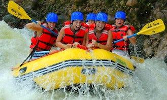 Rafting in La Fortuna, Costa Rica