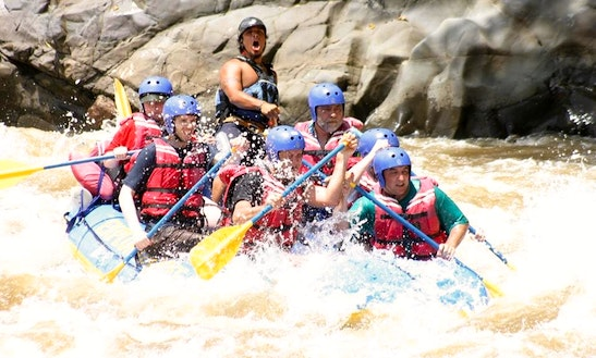 White Water Rafting In San José