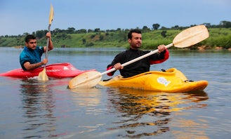Kayaking Lessons in the White Nile River