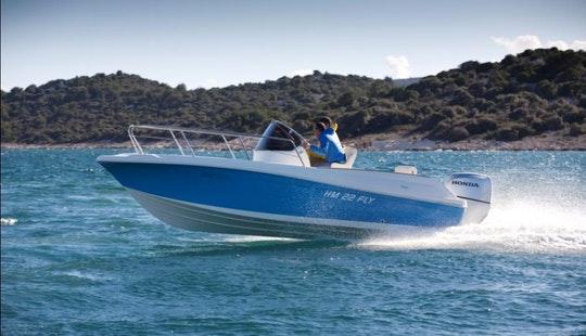 Hm 22 Sundeck Boat Charter In Okrug Gornji