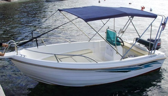 Reful 490 Open Boat Charter In Okrug Gornji