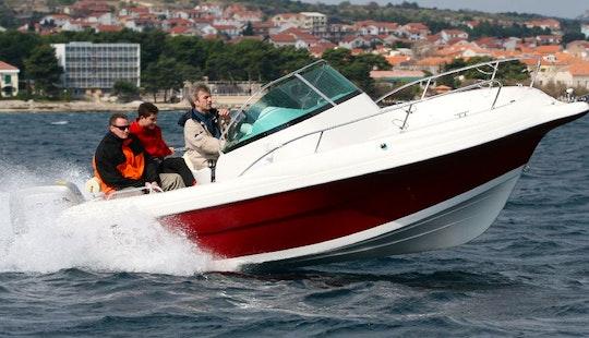 Atlantic 650 Suncruiser Boat Charter In Okrug Gornji