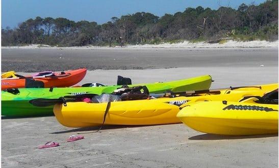 Kayak Rental In Tybee Island Marina