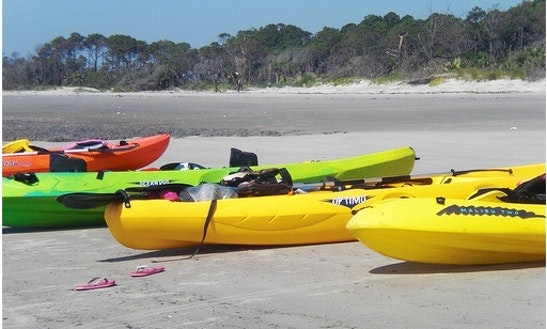 Kayak Rental In Tybee Island Marina