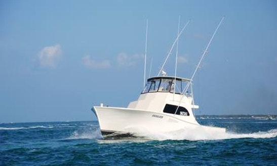 38ft sunrise ii offshore fishing charter in atlantic for Fishing charters morehead city nc
