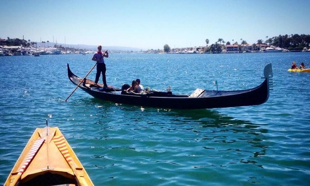 Gondolas In Newport Beach The Best Beaches World