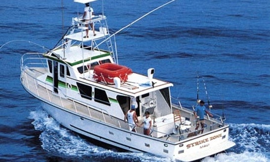 Deep Sea Fishing Charter On 50ft