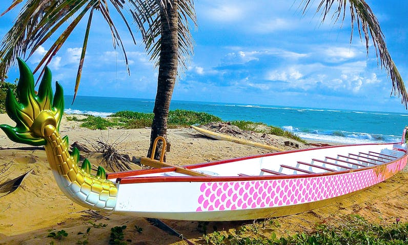 Dragon Boat Advntures in Cabarete
