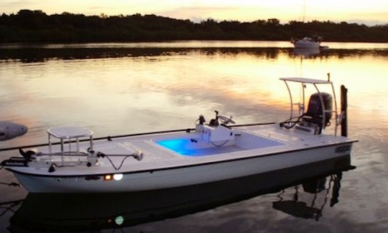 18' Center Console Charter In Daytona Beach, Florida