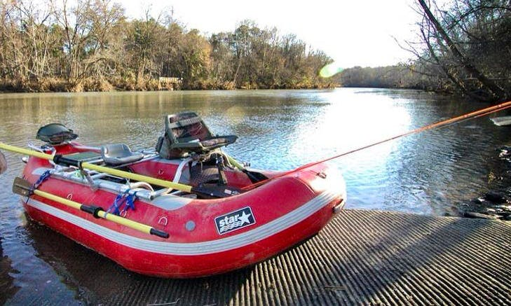 Float Fly Fishing Trips in the Saluda River