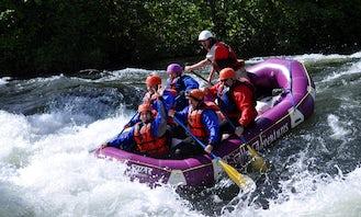 Rafting in White Salmon, Washington