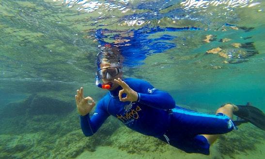Diving Lake Sibaya, In Africa